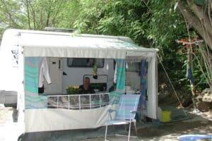 Aire d'accueil pour Camping-cars