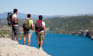 Randonnée au dessus du lac d'Esparron de Verdon