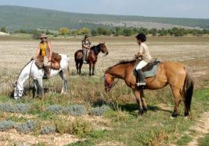 Balades à cheval à Gréoux-les-Bains